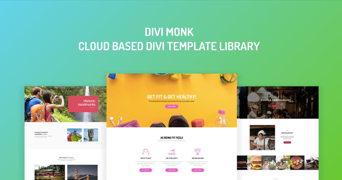 divi template libraries