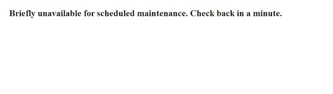 WordPress maintenance function