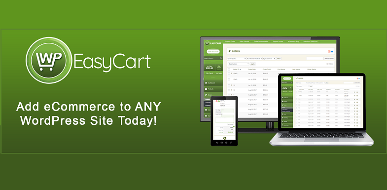 wp easy cart WordPress eCommerce plugins
