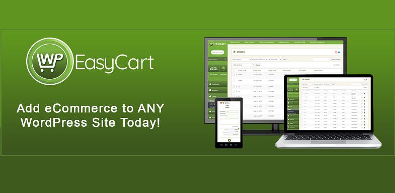 wp easy cart WordPress eCommerce plugins