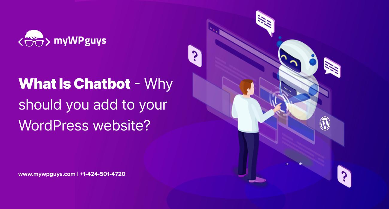add Chatbot for WordPress